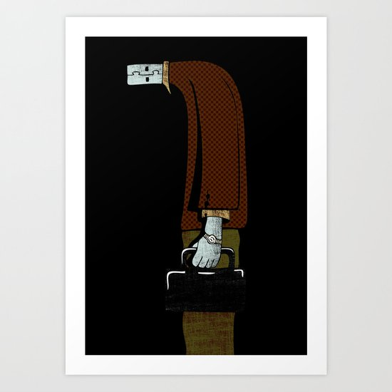 usb man Art Print