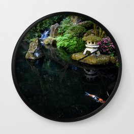 Breathing Towers to Heaven Wall Clock