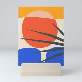 Mid Century Modern Abstract Wall Art Print, Yellow And Black Abstract Print, Modern Retro Art, Livin Mini Art Print