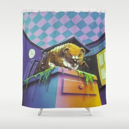 Monster Blood II Shower Curtain