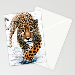 Leopard Wild and Free Stationery Cards