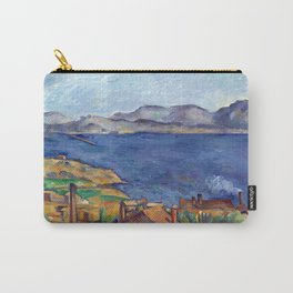 1885 - Paul Cezanne - The Bay of Marseilles, Seen from L'Estaque Carry-All Pouch