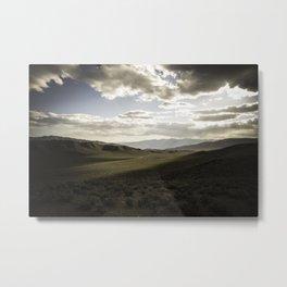Wildrose Valley Metal Print