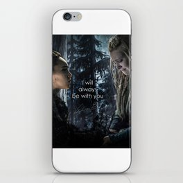 """Clexa: """" I will always be with you"""" iPhone Skin"""