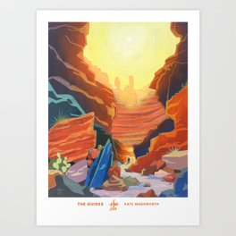 The Guides Art Print