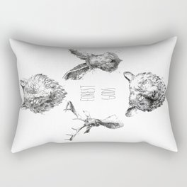 Forest Gods Rectangular Pillow