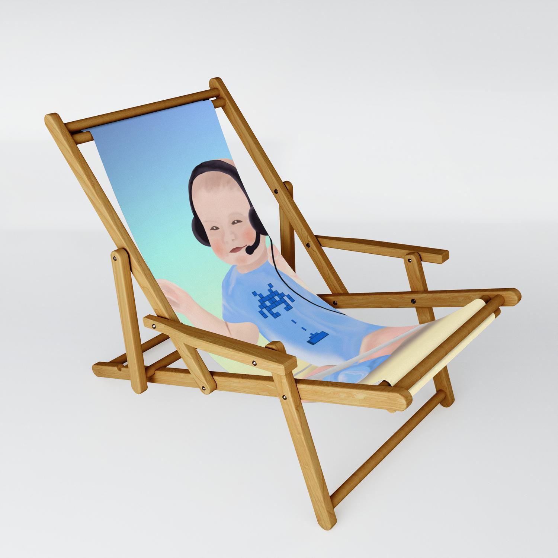 Gamer Baby Sling Chair By Awanderingsoul