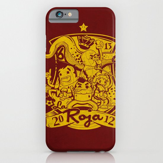 La Roja iPhone & iPod Case