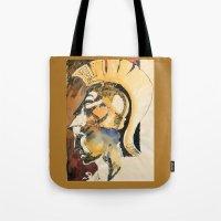 roman Tote Bags featuring Roman by Ecsentrik