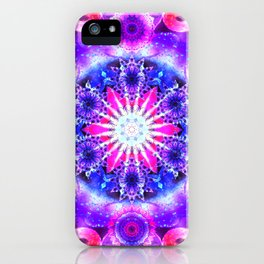 Elevation Mandala Redux - The Mandala Collection iPhone Case