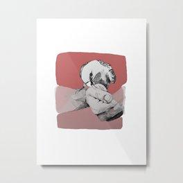 Bird Bite Metal Print