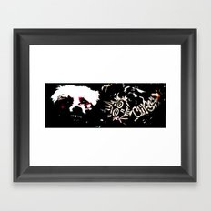 Sharp Framed Art Print