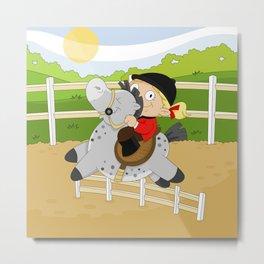 Olympic Sports: Equestrian Metal Print
