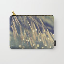Dream within a dream. Golden grass with bokeh. Carry-All Pouch