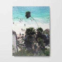 Playa Paraiso Metal Print