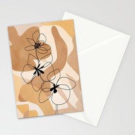 Elegant Flowers Stationery Cards