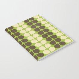 Retro leaf Notebook