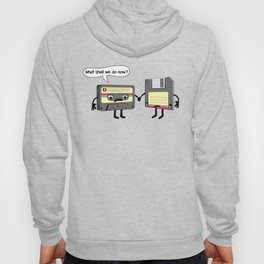 The Obsoletes (Retro Floppy Disk Cassette Tape) Hoody