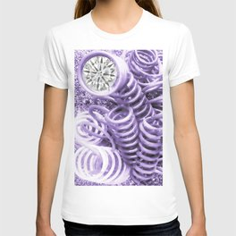 Lilac Industrial Composition T-shirt