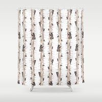 bears Shower Curtains featuring Bears. by Elena O'Neill
