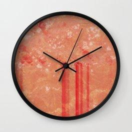 Winter Pattern 4 Wall Clock