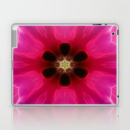 Pink Flower Abstract Laptop & iPad Skin