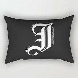 Letter J Rectangular Pillow