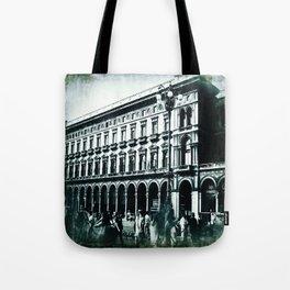Vintage Textured Galleria Vittorio Emanuele II Tote Bag
