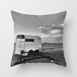 Trailer Throw Pillow