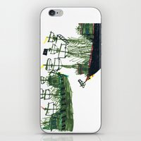 ships iPhone & iPod Skins featuring Ships by kiwiroom