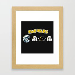 Pac Wars Framed Art Print