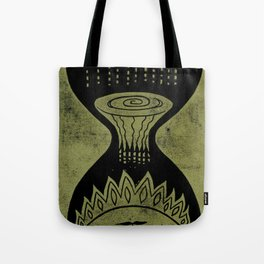 Healing (Black) Tote Bag