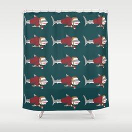 Shark LumberJack Shower Curtain