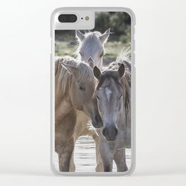 Family Time cr Clear iPhone Case