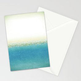 Vintage Beach (Or Memory of a Summer Day) Stationery Cards