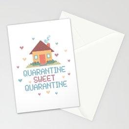 Quarantine Sweet Quarantine - Social Distancing  Stationery Cards