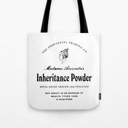 Inheritance Powder Tote Bag