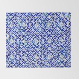 Azulejo Throw Blanket