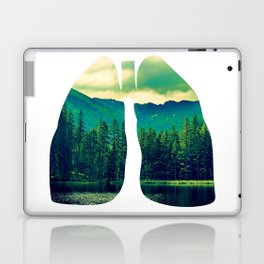 Lung Forest Fresh Laptop & iPad Skin