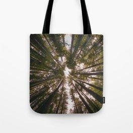 Redwood Fisheye Tote Bag