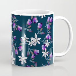 Beautiful pattern design with flowers in vintage style Coffee Mug