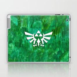 Zelda Triforce Painting Laptop & iPad Skin