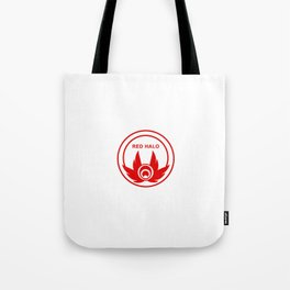Red Halo Logo Tote Bag