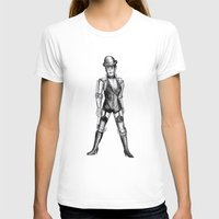 c3po T-shirts featuring sally c3po by ronnie mcneil