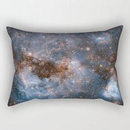 NASA Hubble Image of Space Rectangular Pillow