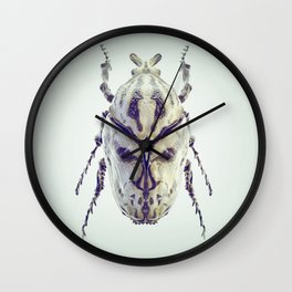 Death-Mask Beetle Wall Clock