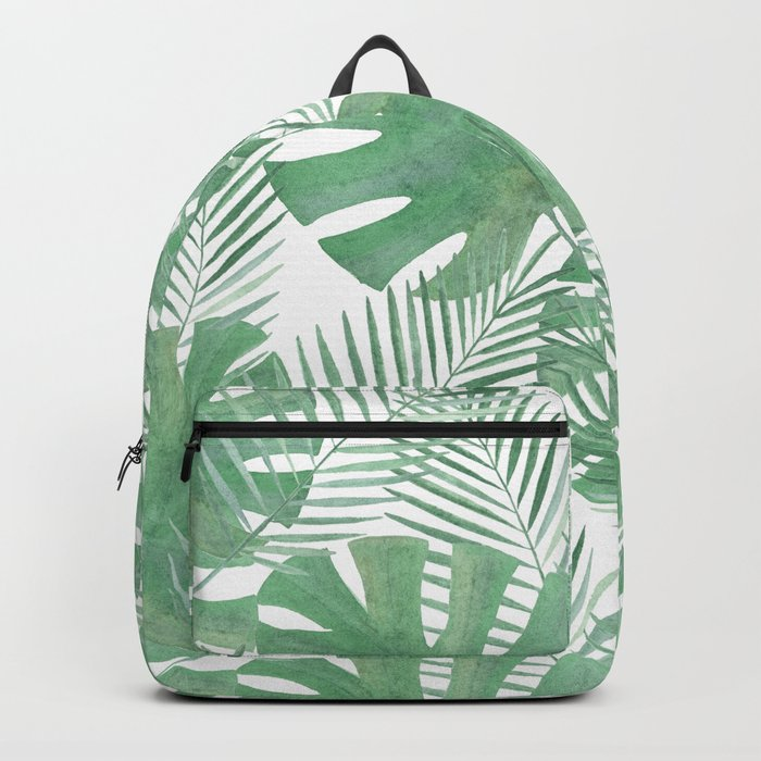 Palm leaves 6 Backpack
