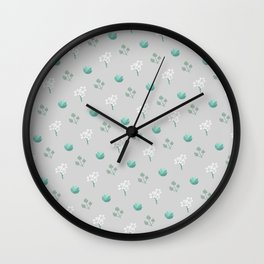 Lovely Flovers Wall Clock