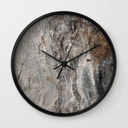 Coast of Maine Rocks, No.3 Wall Clock