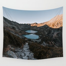 Mountain Ponds - Landscape and Nature Photography Wall Tapestry